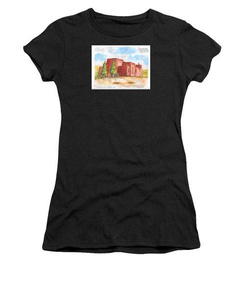 Sacred Heart Catholic Church, Nambe, New Mexico Women's T-Shirt