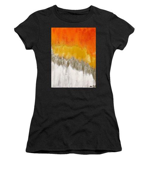Saffron Sunrise Women's T-Shirt