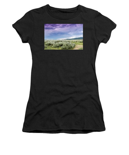 Sage Fields  Women's T-Shirt (Athletic Fit)