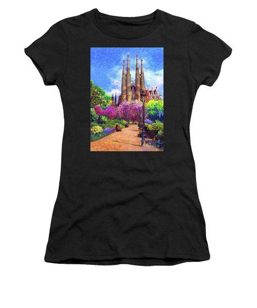 Sagrada Familia And Park Barcelona Women's T-Shirt