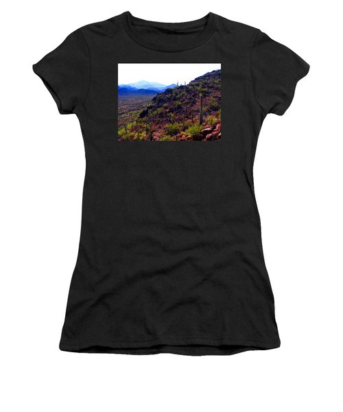 Saguaro National Park Winter 2010 Women's T-Shirt
