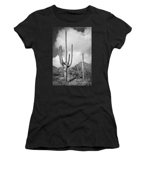 Saguaro Women's T-Shirt (Athletic Fit)