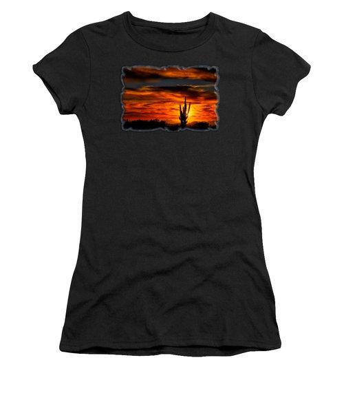 Saguaro Sunset H31 Women's T-Shirt