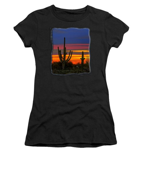 Saguaro Sunset V31 Women's T-Shirt