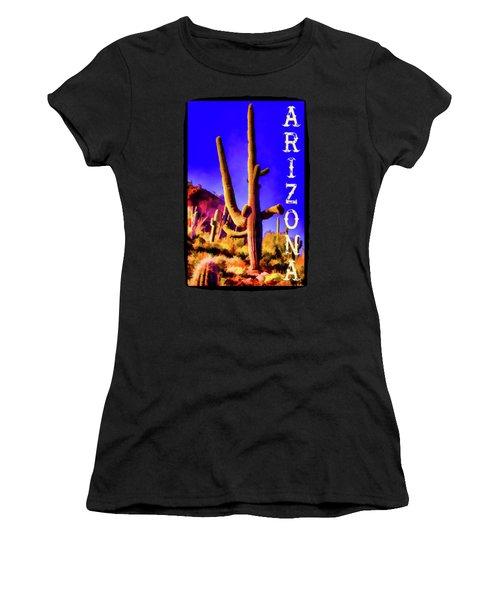 Saguaros Everywhere Women's T-Shirt