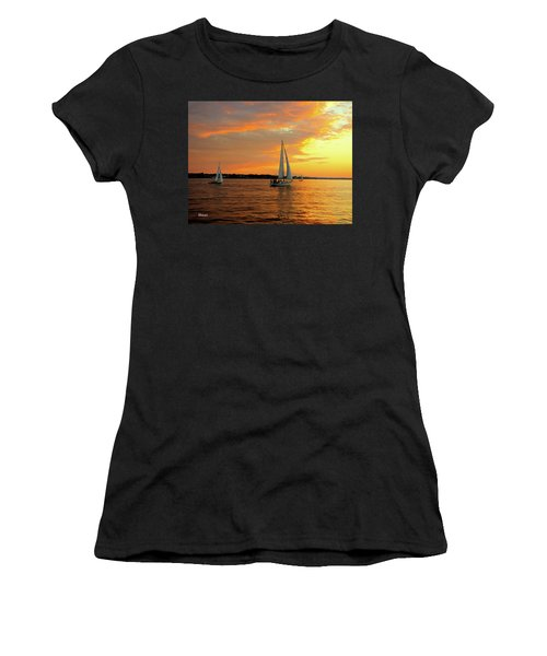Sailboat Parade Women's T-Shirt
