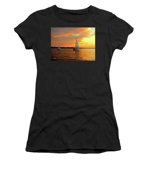 Sailboat Parade Women's T-Shirt