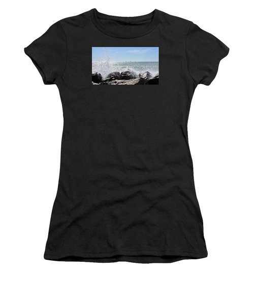 Sailboats And Surf Women's T-Shirt (Athletic Fit)