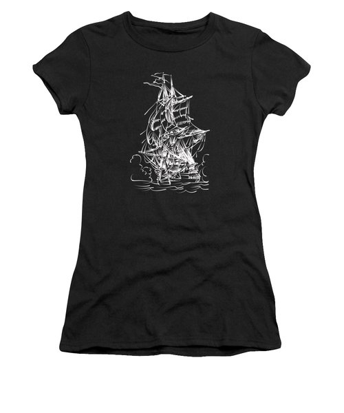 Sailing 2  Women's T-Shirt (Athletic Fit)