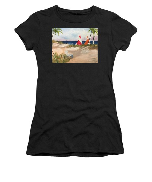 Sailing Along Women's T-Shirt (Athletic Fit)