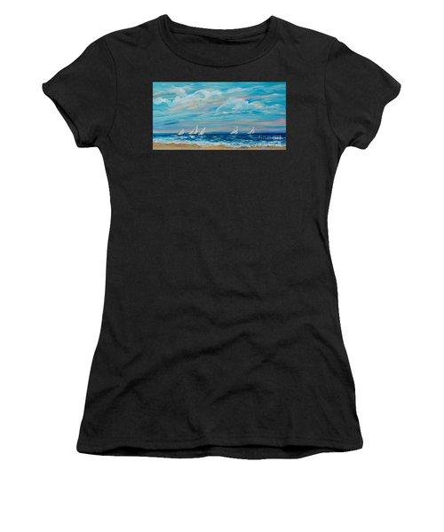Sailing Close To The Shore Women's T-Shirt