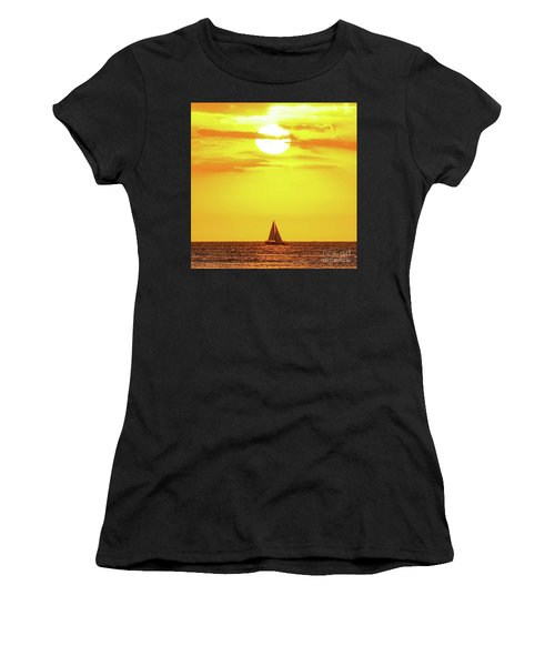 Sailing In Hawaiian Sunshine Women's T-Shirt
