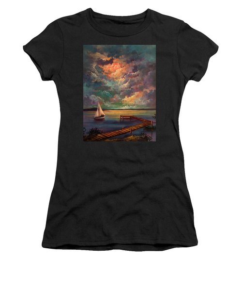 Sailing Women's T-Shirt (Athletic Fit)