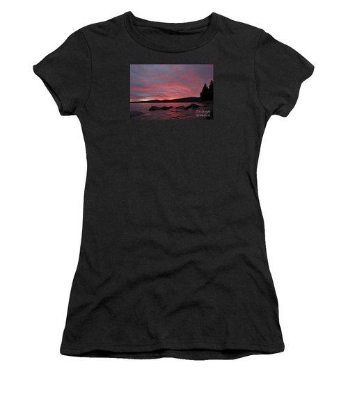 Women's T-Shirt (Junior Cut) featuring the photograph Sailor's Delight by Sandra Updyke