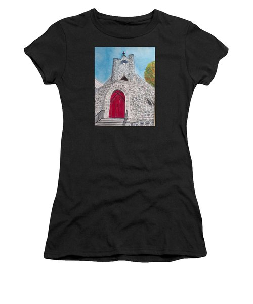 Saint James Episcopal Church Women's T-Shirt (Athletic Fit)
