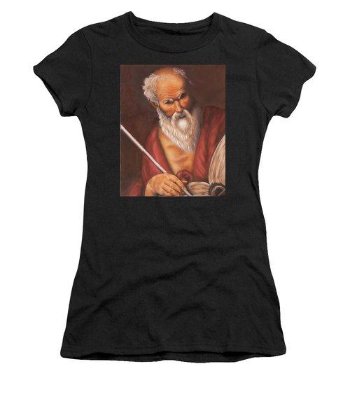 Saint Jerome Women's T-Shirt (Athletic Fit)