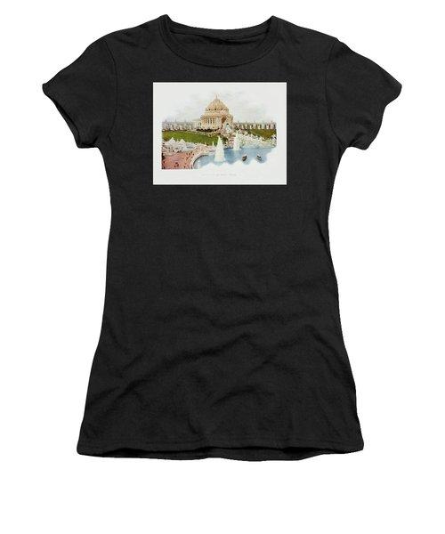 Saint Louis World's Fair Festival Hall And Central Cascade                            Women's T-Shirt (Athletic Fit)
