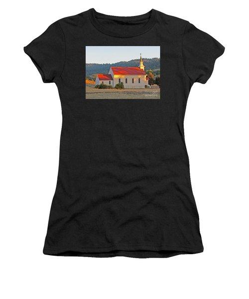 St. Mary's Church At Sunset Women's T-Shirt