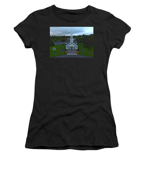 Saint Mary's Church From Above Women's T-Shirt