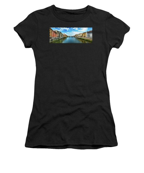 Saint Trinity Bridge From Ponte Vecchio Women's T-Shirt