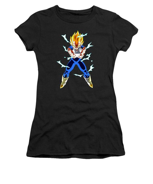 Saiyan Warriors Women's T-Shirt (Junior Cut) by Opoble Opoble