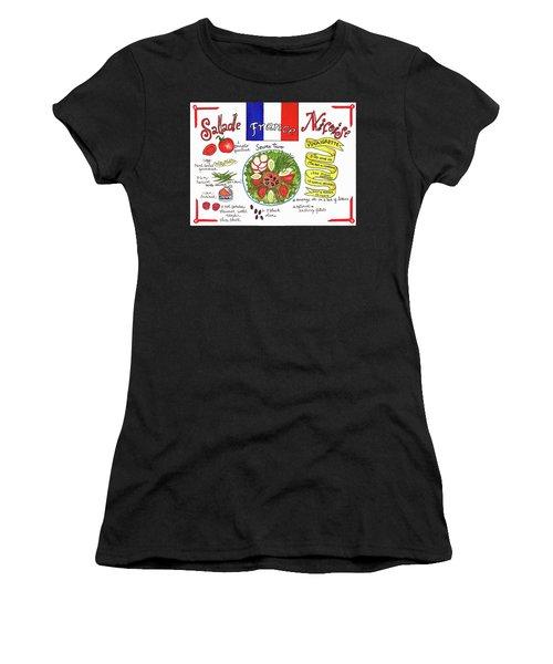 Salade Nicoise Women's T-Shirt (Athletic Fit)