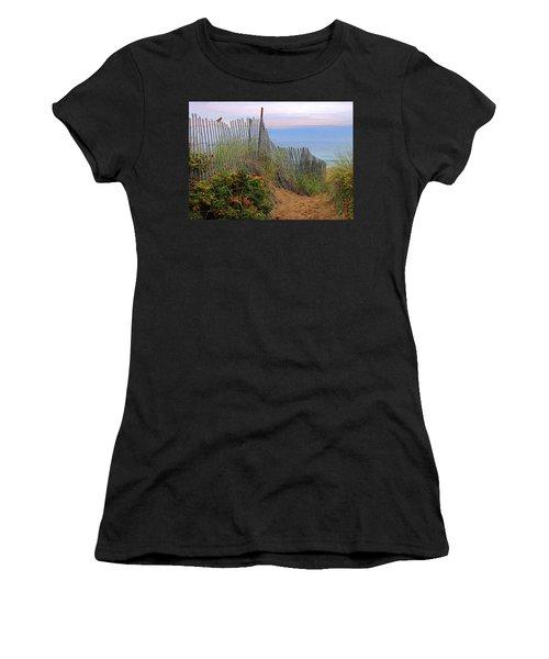 Salisbury Beach Women's T-Shirt (Athletic Fit)