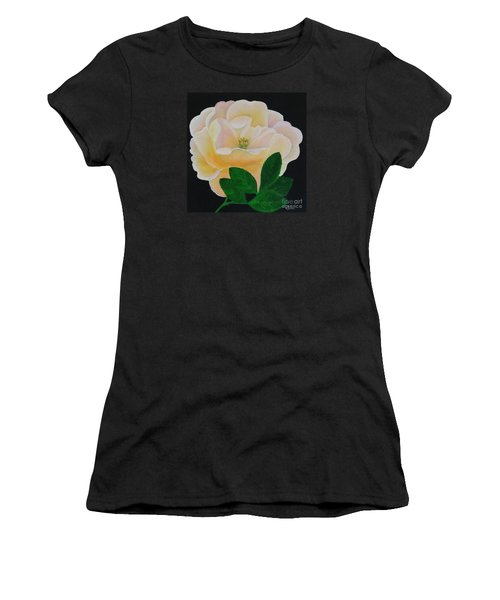 Salmon Pink Rose Women's T-Shirt