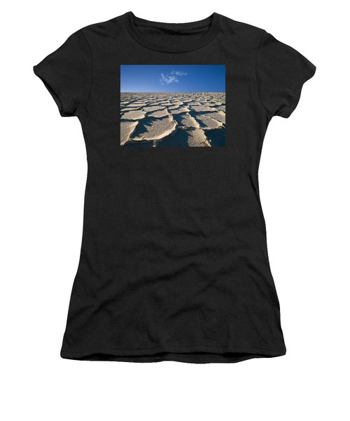 Salt Flats Death Valley National Park Women's T-Shirt (Athletic Fit)