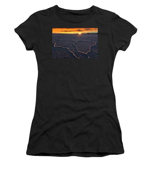 Salt Flats Sunset Women's T-Shirt