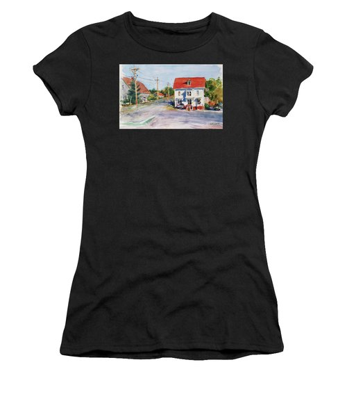 Salty Market, North Truro Women's T-Shirt (Athletic Fit)