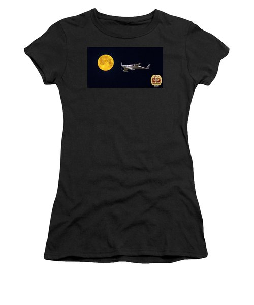 Sam And The Moon Women's T-Shirt