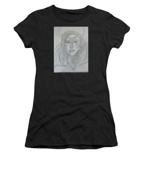 Samarai Warrior Woman Women's T-Shirt (Athletic Fit)