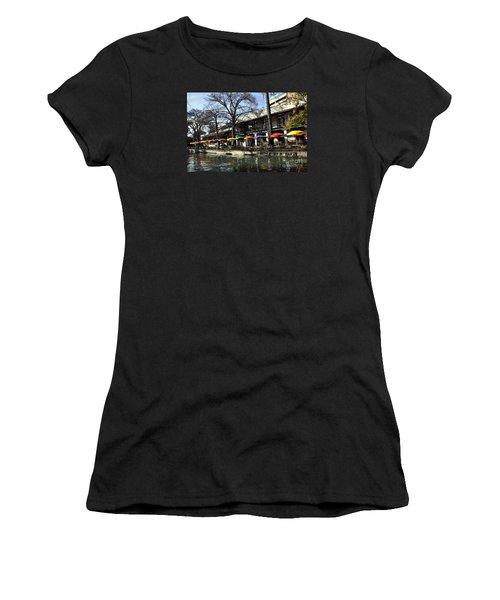 San Antonio River Walk 2 Women's T-Shirt (Athletic Fit)