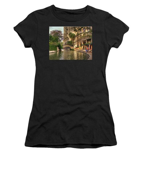 San Antonio Riverwalk Women's T-Shirt