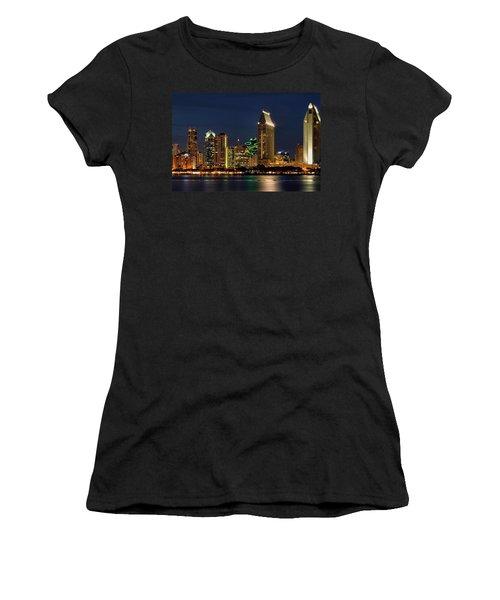 San Diego Night Women's T-Shirt