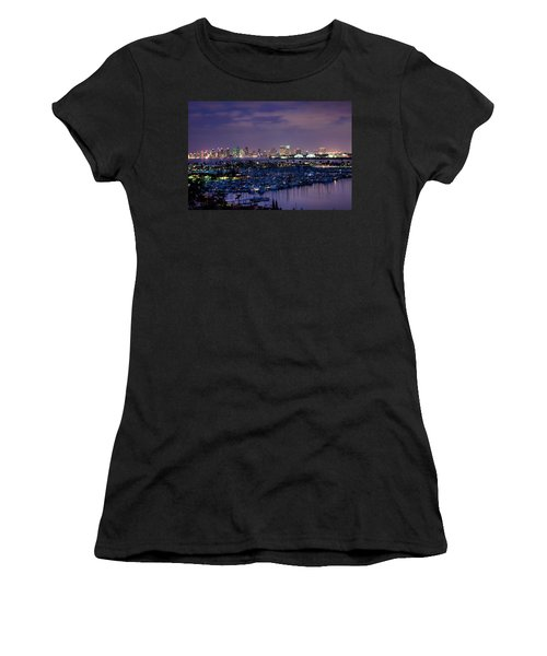 San Diego Skyline 4 Women's T-Shirt