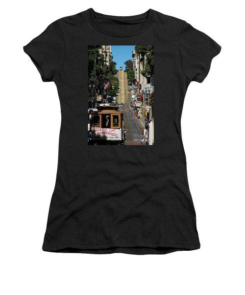 San Francisco Cable Cars Women's T-Shirt