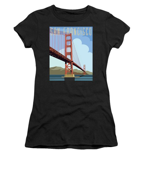 San Francisco Poster  Women's T-Shirt