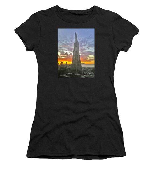 San Francisco Pyramid Women's T-Shirt