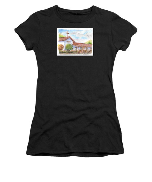 San Francisco Solano Mission, Sonoma, California Women's T-Shirt