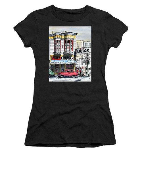 San Francisco Street Corner Women's T-Shirt