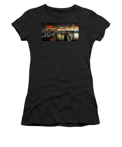 San Francisco's Fisherman's Wharf Women's T-Shirt