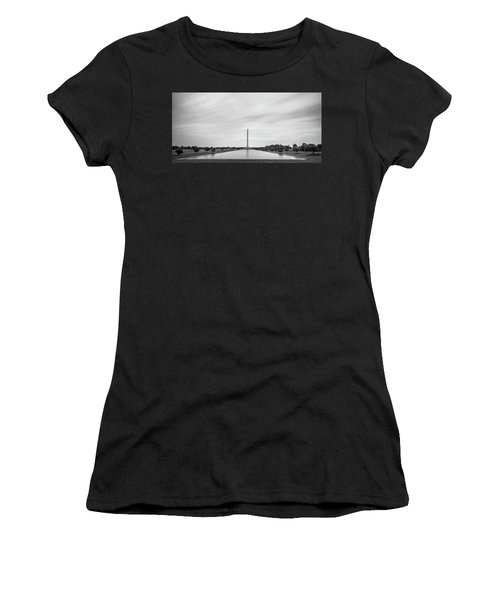 San Jacinto Monument Long Exposure Women's T-Shirt (Athletic Fit)