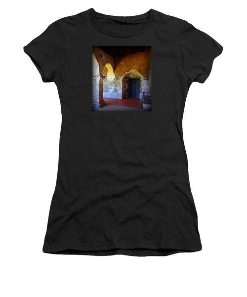 San Juan Capistrano Mission Women's T-Shirt (Athletic Fit)