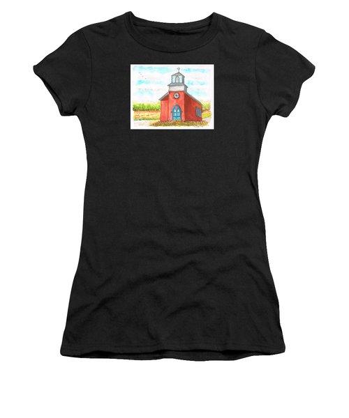 San Rafael Church In La Cueva, New Mexico Women's T-Shirt (Athletic Fit)