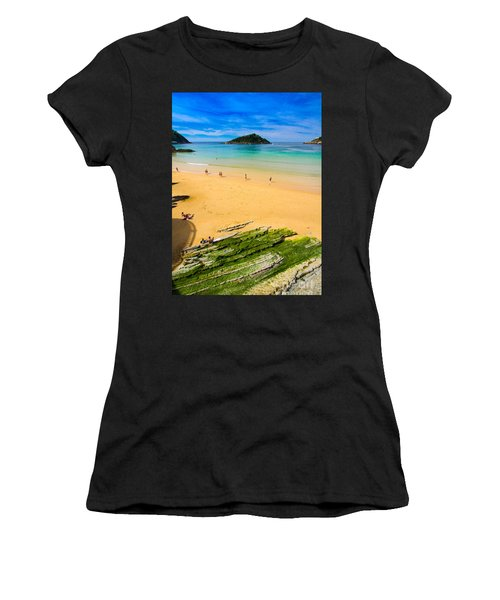 San Sebastian Summer Women's T-Shirt (Athletic Fit)