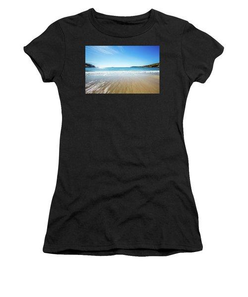 Sand Beach Women's T-Shirt (Athletic Fit)
