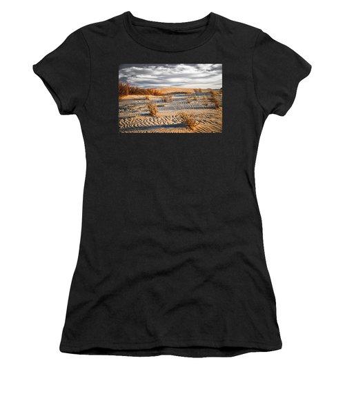 Sand Dune Wind Carvings Women's T-Shirt