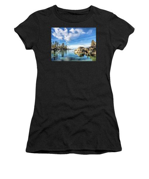 Sand Harbor Morning Women's T-Shirt